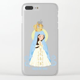 Virgen del Valle Clear iPhone Case