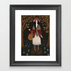 amanita Framed Art Print