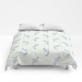 Squirrel sketch Comforters
