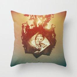 Claustrophobia Throw Pillow