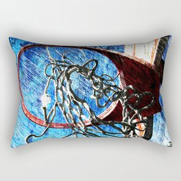 Basketball art 10 Rectangular Pillow