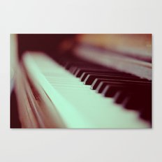 Piano Part 2 Canvas Print