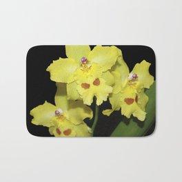 Glorious Golden Orchid - Odontonia Yellow Parade Alpine Bath Mat