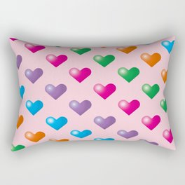 Hearts_F03 Rectangular Pillow