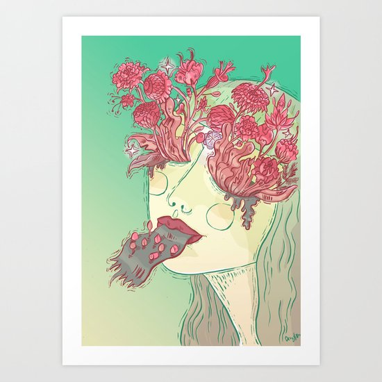 The Eyes of My Eyes are Open - Everything Which Is Yes Art Print