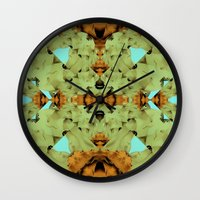 dune Wall Clocks featuring Dune by JKyleKelly