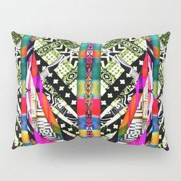 fire pattern Pillow Sham