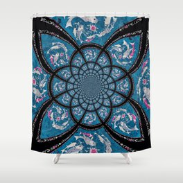 Drones Shower Curtain