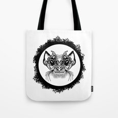 Half Hairy Angry Monkey Tote Bag