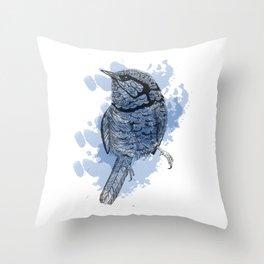 One Little Bird Throw Pillow