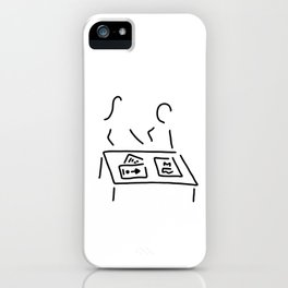 meeting decision design director iPhone Case
