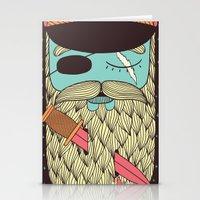 captain Stationery Cards featuring Captain Hope by Alejandro Giraldo
