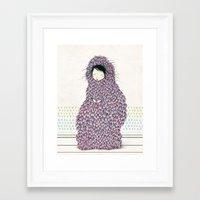 musa Framed Art Prints featuring Musa by Belén Segarra