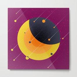 021 OWLY meteor shower Metal Print