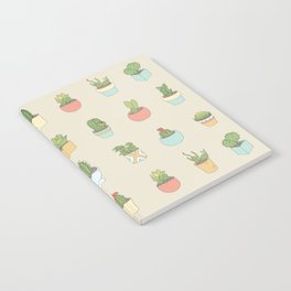 Cute Succulents Notebook