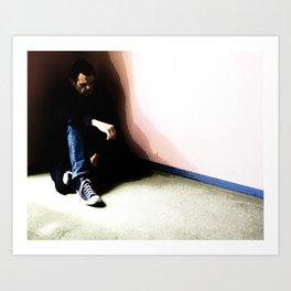 In the Corner #3 Art Print