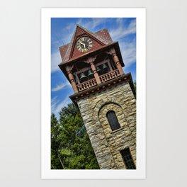 Childrens Memorial Tower - Stockbridge Art Print