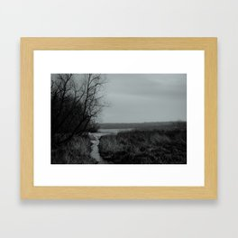 Mosquito Lake  Framed Art Print