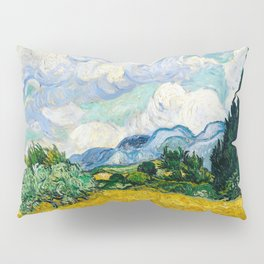 Vincent Van Gogh - Wheat Field with Cypresses Pillow Sham