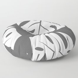 monstera Floor Pillow