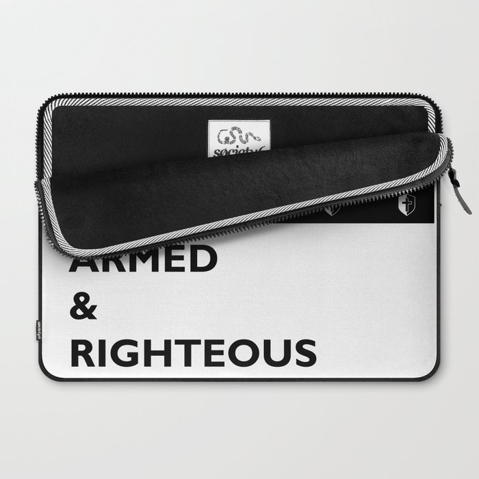 Armed & Righteous Laptop Sleeve