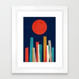 World's Edge Framed Art Print