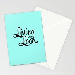 Living La Vida Loca Stationery Cards