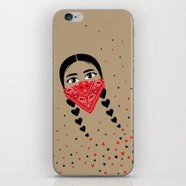 Love & Revolution iPhone Skin
