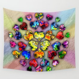 heart beat II Wall Tapestry
