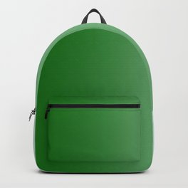 Green to Pastel Green Vertical Linear Gradient Backpack