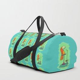 Tiki Drink Bird! Duffle Bag