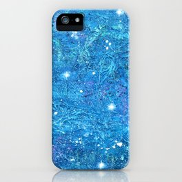 NOCTCAELADOR (love of the night sky) - celestial abstract prophetic art SOUTHERN CROSS STARS iPhone Case