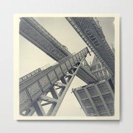 Tower Bridge 02D (19th Century) Metal Print