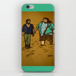 out the hatch iPhone Skin