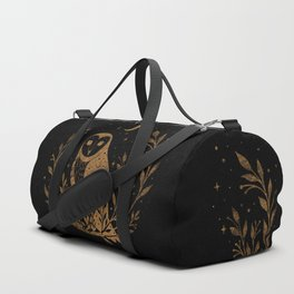Owl Moon - Gold Duffle Bag