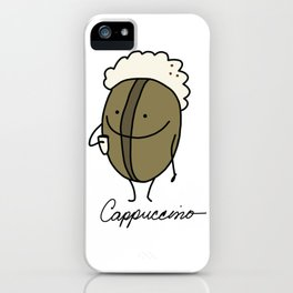 Cappuccino iPhone Case