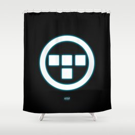 Tron Lives! Shower Curtain