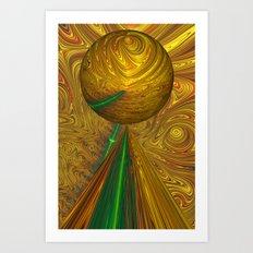 A Different Planet Art Print