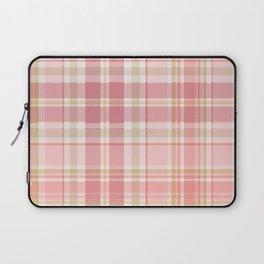 Pink Plaid Laptop Sleeve