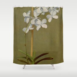 Naturalist Orchid Shower Curtain