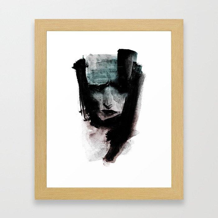 CAPTURE / 01 Framed Art Print