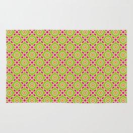 Batik Grompol bright colour Rug