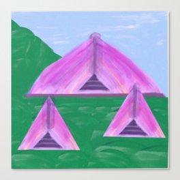 Yurt Tent Three Canvas Print