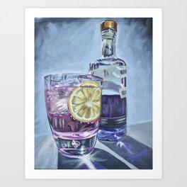 Empress Gin Art Print