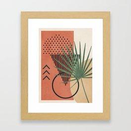 Nature Geometry II Framed Art Print