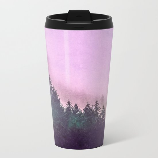 Misty Mountain Pass Metal Travel Mug