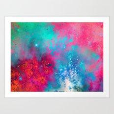 γ Vela Art Print