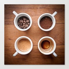 coffee VI. Canvas Print