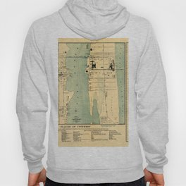 Map Of West Palm Beach 1907 Hoody