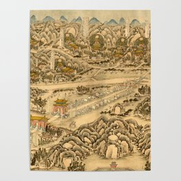 The Ming Tombs 1736 Poster